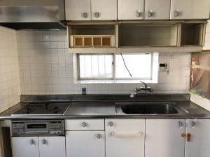 キッチン改修工事前